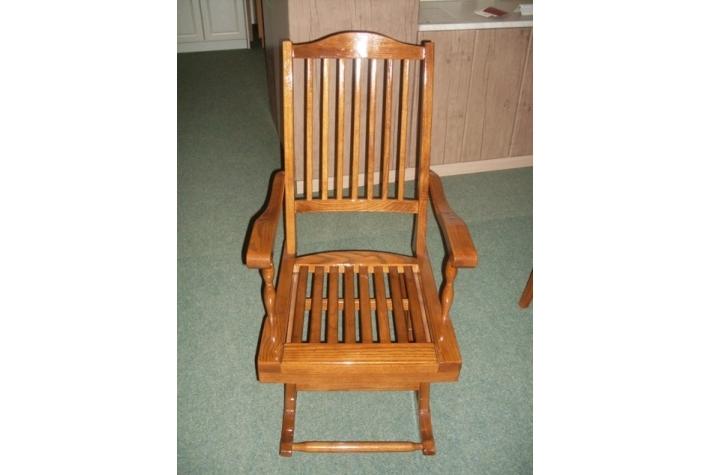 Stolica Na Ljuljanje HRAST