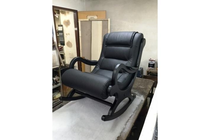Fotelja Na Ljuljanje Koža