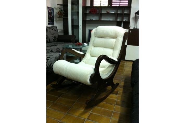 Fotelja za Ljuljanje Štof