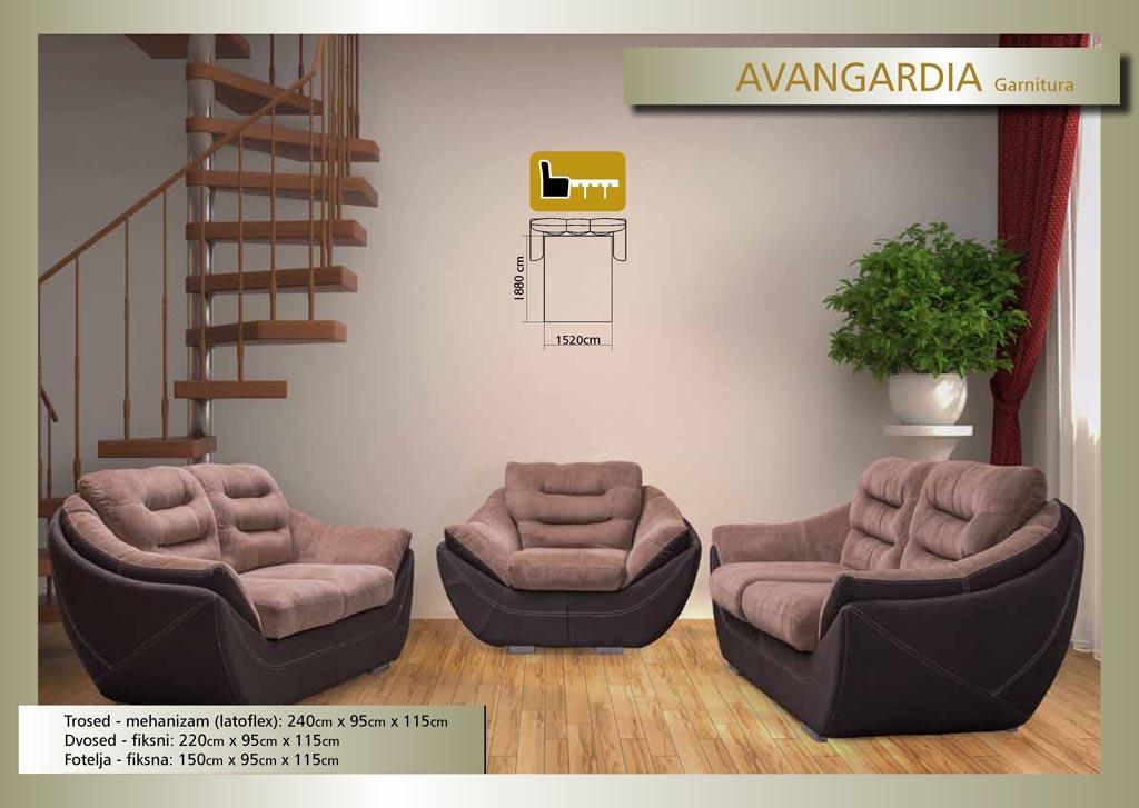 Garnitura - Avangardia