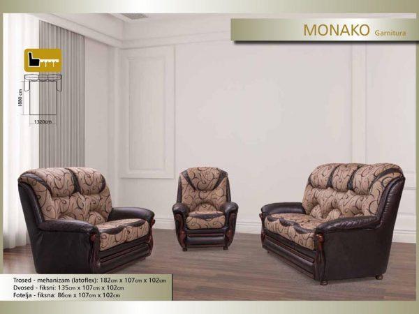 Garnitura - Monako